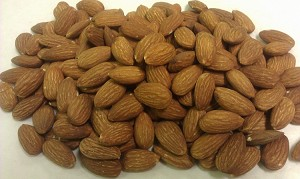 Roasted Unsalted Almonds (Insecticide Free)